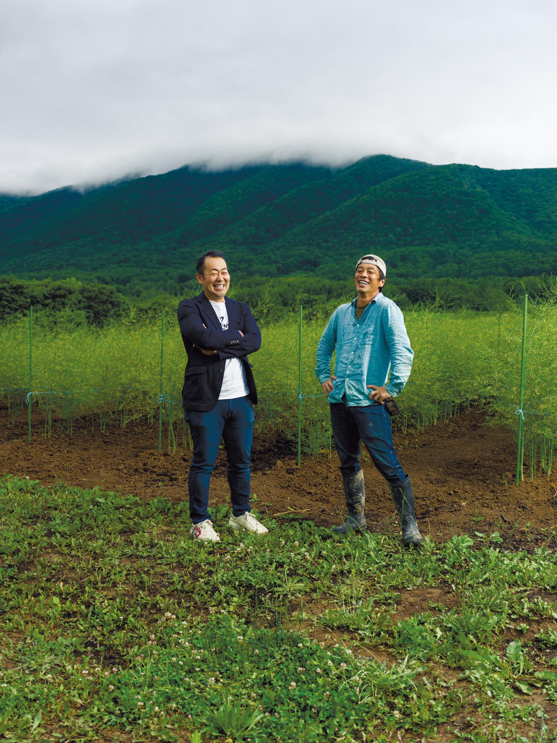 SAPPORO Magazine -Issue 01-11 アスパラ専業農家、赤木陽介さん訪問記